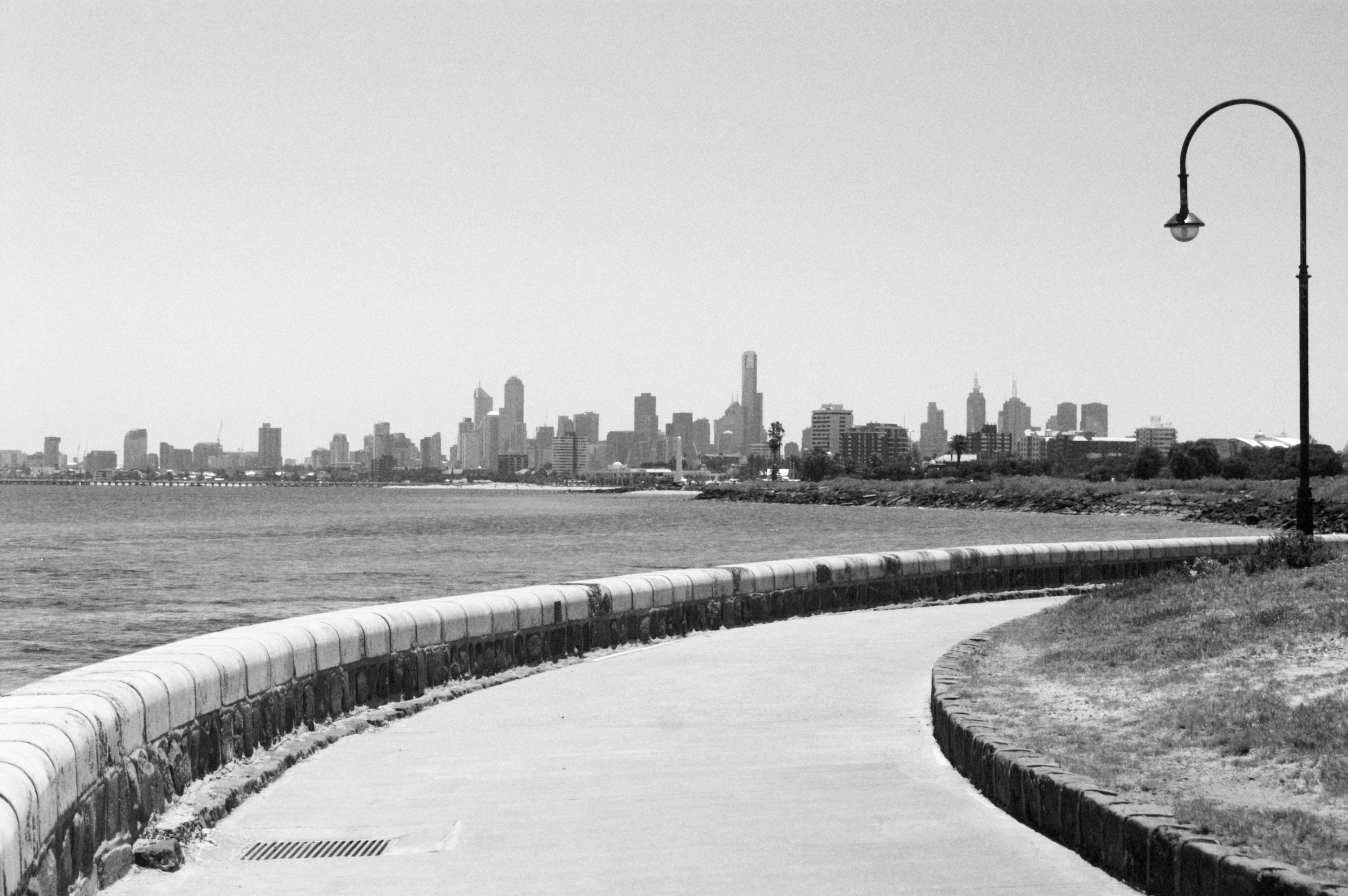 Melbourne depuis St Kilda