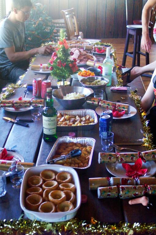Irish Christmas Meal