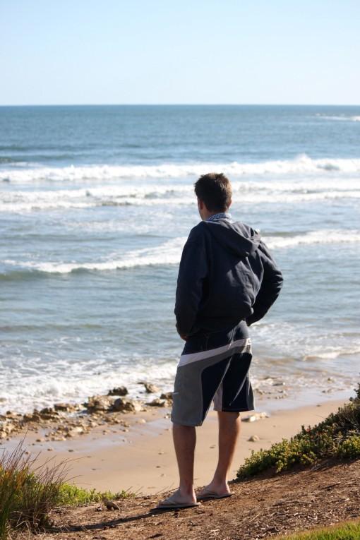 """""""Le jeune homme et la mer"""""""