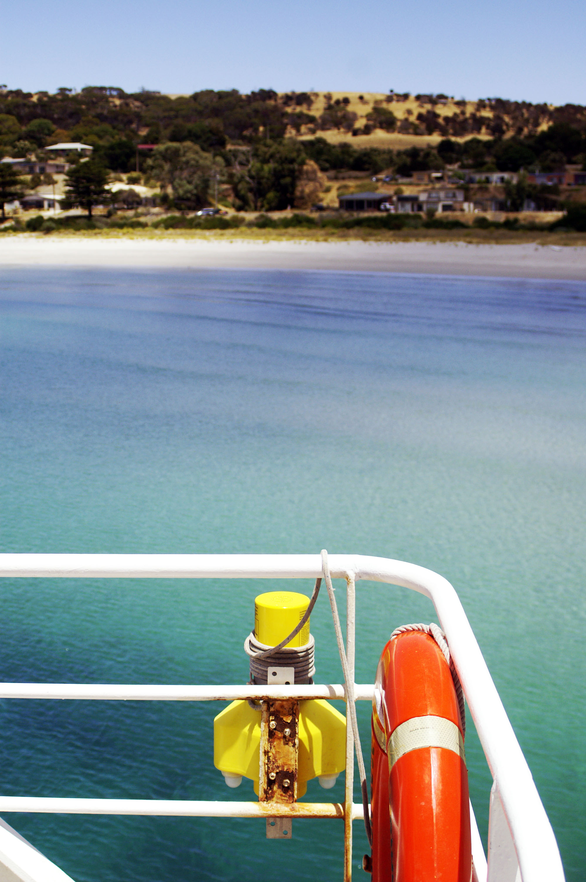Arrivée à Kangaroo Island