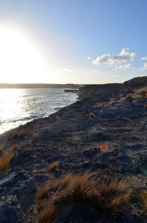 Coucher de soleil à Hanson Bay