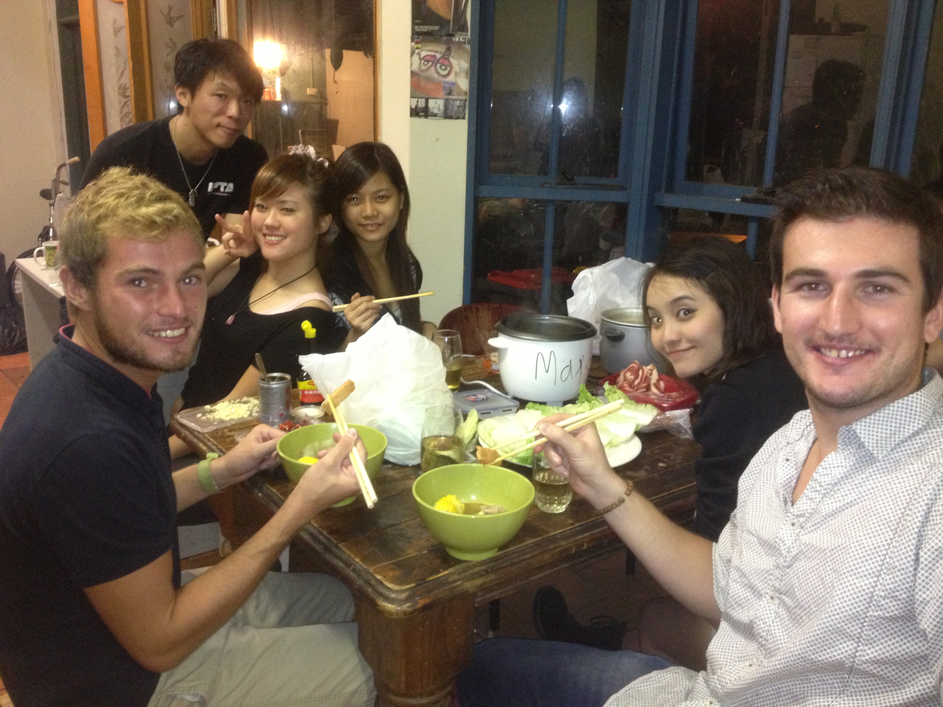 Hot Pot repas traditionnel Chinois