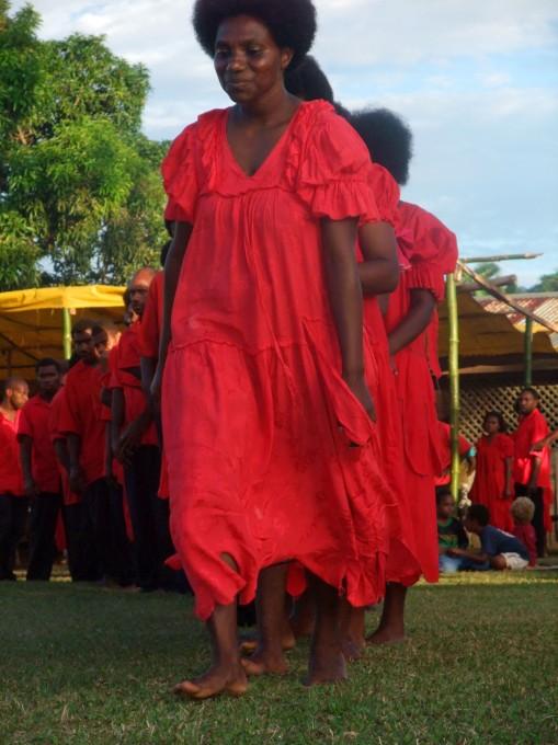Danse lors de la cérémonie de la fête des mères