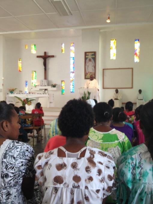Un dimanche matin à la messe